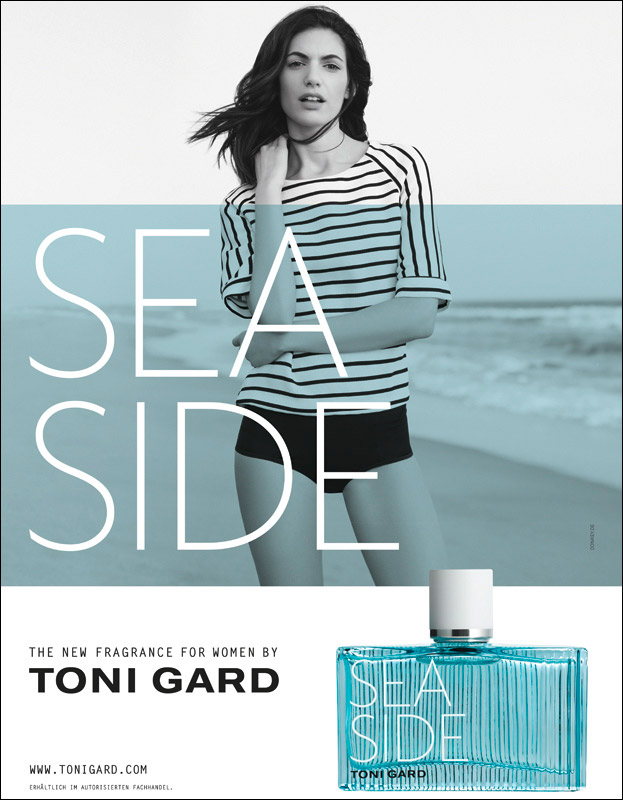 seaside woman by toni gard
