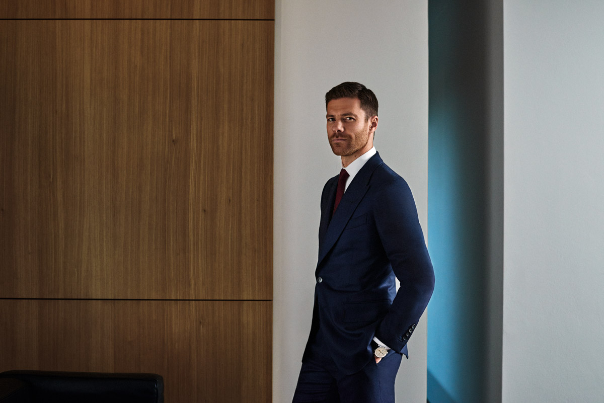 Xabi Alonso for Mr Porter
