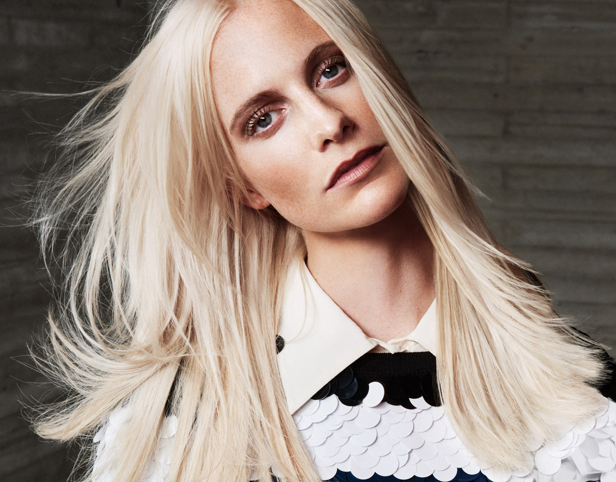 Poppy Delevingne for Wella