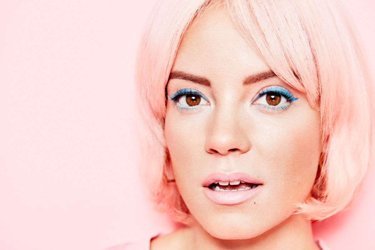 Lily Allen for Stylist
