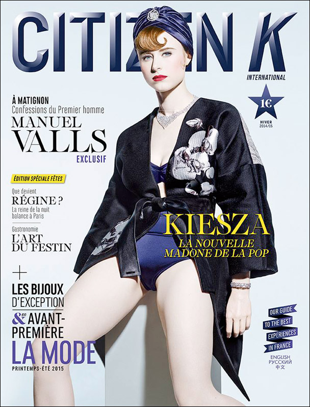 kiesza for citizen k (fr)
