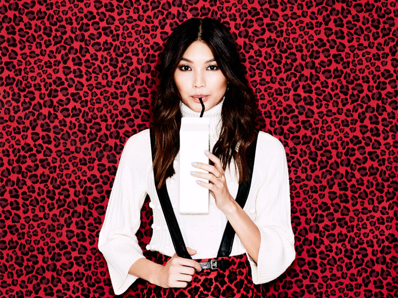 Gemma Chan for Stylist (UK)